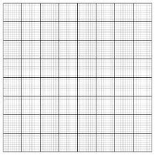 Graph Paper Coordinate Paper Grid Paper Squared Paper Royalty Free