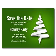 Christmas Party Save The Date Templates Christmas Party Save The Date Template Zazzle Com In 2019