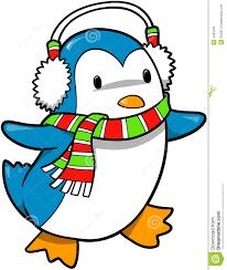 holiday penguin clip art. Contemporary Clip Holiday Penguin Vector In Clip Art