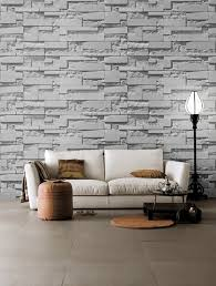 Small Picture 128 1 3D design brick stone rock pvc vinyl wall covering