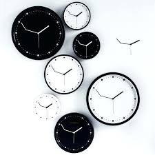 wall clock for office. Cool Office Clocks Wall With Different Time Zones . Clock For O