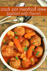 meatball oven stew