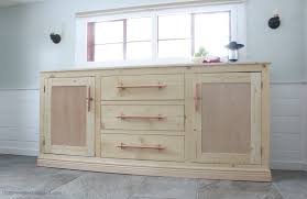 anna white furniture plans. build an extra long buffet cabinet with tons of storage free plans by ana whitecom anna white furniture
