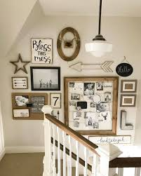 bless this mess shabby chic stairwell