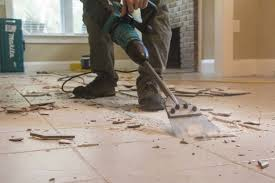 remove tile the easy way