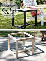 make your own garden furniture. Make Your Own Garden Side Table: Furniture