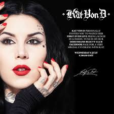for many years kat von d has been a muse and a crush of mine and i ve been impatiently waiting for what feels like forever for kat to launch her makeup
