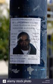Missing Persons Posters A Spanish Language Missing Person Poster Affixed To A Traffic Signal 15