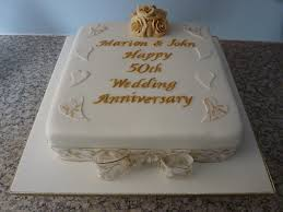 50th Wedding Anniversary Cake Pictures
