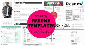 Unique Resume Templates Free Essayscope Com