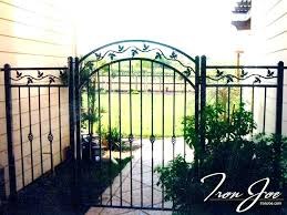 wrought iron gate designs photos garden custom gates bay area within used garde wrought iron garden gate