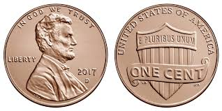 Penny Values Chart 2017 2017 D Lincoln Shield Penny Coin Value Prices Photos Info