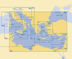 Imray Charts Mediterranean M20 Eastern Mediterranean Imray Chart