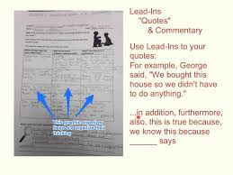 Lead Ins For Quotes The Veldt LeadIns Quotes Commentary YouTube 7