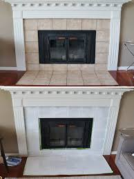 painting ceramic tile fireplace surround photos on awesome h12 for inspirational painting tile fireplace g41 fireplace