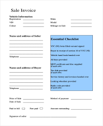 Sample Sales Invoice Form 8 Free Documents In Word Pdf