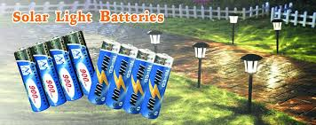 Pack Of 10 BuyaBattery UK Branded AA Rechargeable Solar Amazonco Solar Garden Lights Batteries Rechargeable