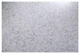 our carrara marble hexagon tile