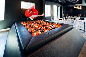 google office slides. The Melbourne Office Of ISelect, A Private Healthcare Insurance Company Boasts Giant Slide Dropping Employees Into Ball Pool In Matter Seconds. Google Slides E