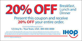 47-124-02 Off Marketing Coupon From 20 Materials amp;jones Smith Ihop Store Local - 48 80