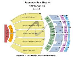 Fabulous Fox Theatre Tickets And Fabulous Fox Theatre