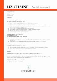 Dental Assistant Resume Template Best Dental Assistant Resume Inspirational Resume Template Page 28
