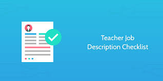 9 School Checklists For Teachers And Administrators To Bring Order