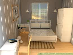 image titled decorate small. Image Titled Affordably Decorate A Small Bedroom Step 7 T