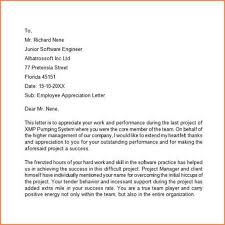 7 Appreciation Letter To Employee For Good Work Adjustment Letter