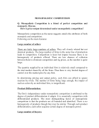 being funny is tough monopolistic competition essay sample monopolistic competition translation