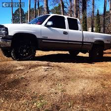 Wheel Offset 1999 Chevrolet Silverado 1500 Slightly Aggressive ...