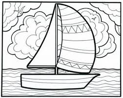 Small Picture Its a smoooooth sailboat coloring book page from our classic