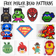 Free Perler Bead Patterns