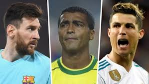 European Goal Scoring Charts Cristiano Ronaldo Lionel Messi Romario Pele Who Are The