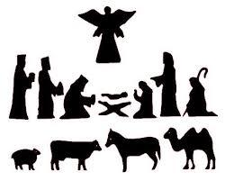 Free Nativity Scene Patterns