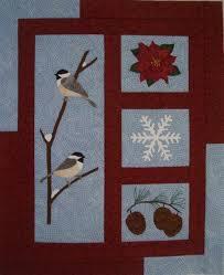 Winter Harmony Quilt Pattern QLD-199 (advanced beginner, wall hanging) & Winter Harmony Quilt Pattern QLD-199 Adamdwight.com