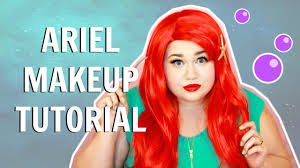 disney s little mermaid makeup tutorial ariel makeup fashionmecurvy you