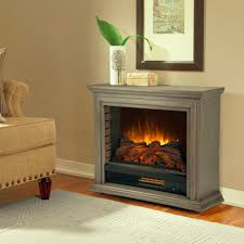details about electric vent free gray fireplace stoves grey living room heater fireplaces new