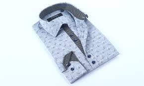 Coogi Luxe Mens Button Down Dress Shirts Size L