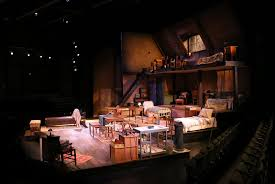Diary Of Anne Frank Set Design Scene Design Department Of Theatre And Dance The