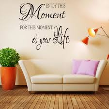 enjoy this moment wall decal wall sticker quotes inspired lettering wall art wallpaper 652q affiliate on lettering wall art quotes with enjoy this moment wall decal wall sticker quotes inspired lettering