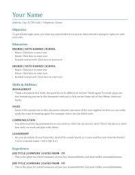 Resume Free Resume Sample Word Valid Format Template Best