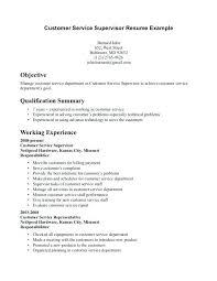 Customer Service Resume Objective Enchanting Customer Service Resume Objective Examples From Sample Of Objectives