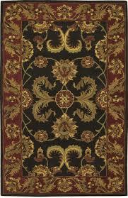 nourison india house ih04 black rug