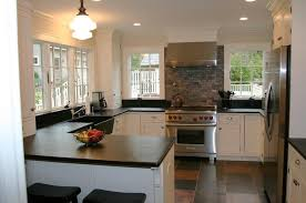 wilson white kitchen with soapstone countertop
