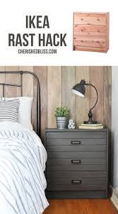 Ikea Rast Hack | Turn a simple dresser into this Printers Cabinet inspired  Rustic Industrial Nightstand