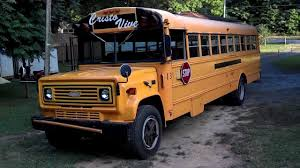 All Chevy chevy c60 : 89' Chevy Thomas C60 Bus - YouTube