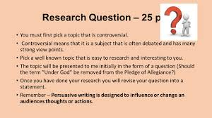 th grade eslr controversial topic ppt 3 research