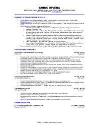 Telemarketing Resumes Sample Resume For Telemarketer