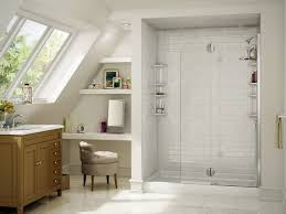 a window in the bathroom is always a stylish option for extra light bathtub replacement